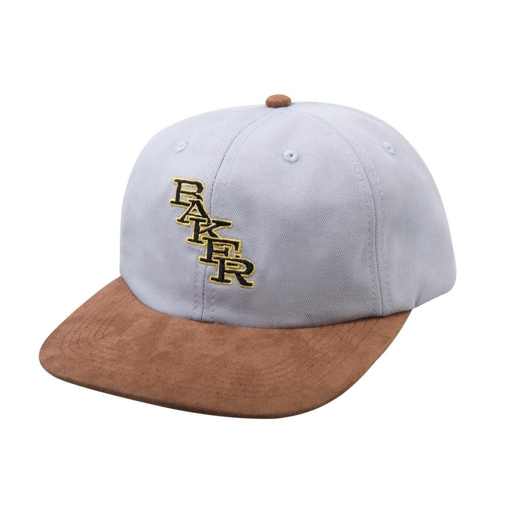 Baker Cooperstown Strapback hat grey/tan