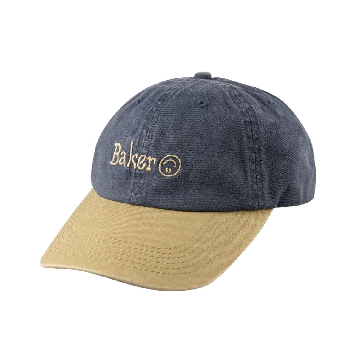 Baker Upside Snapback hat navy