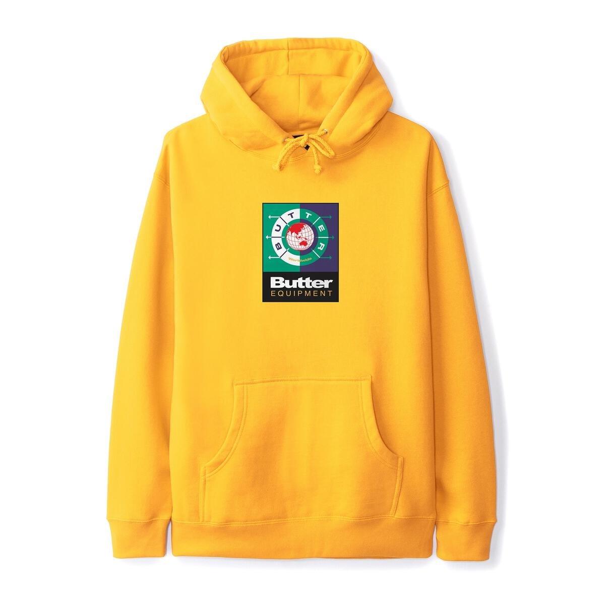 Butter Goods Navigate Pullover Hoodie Gold