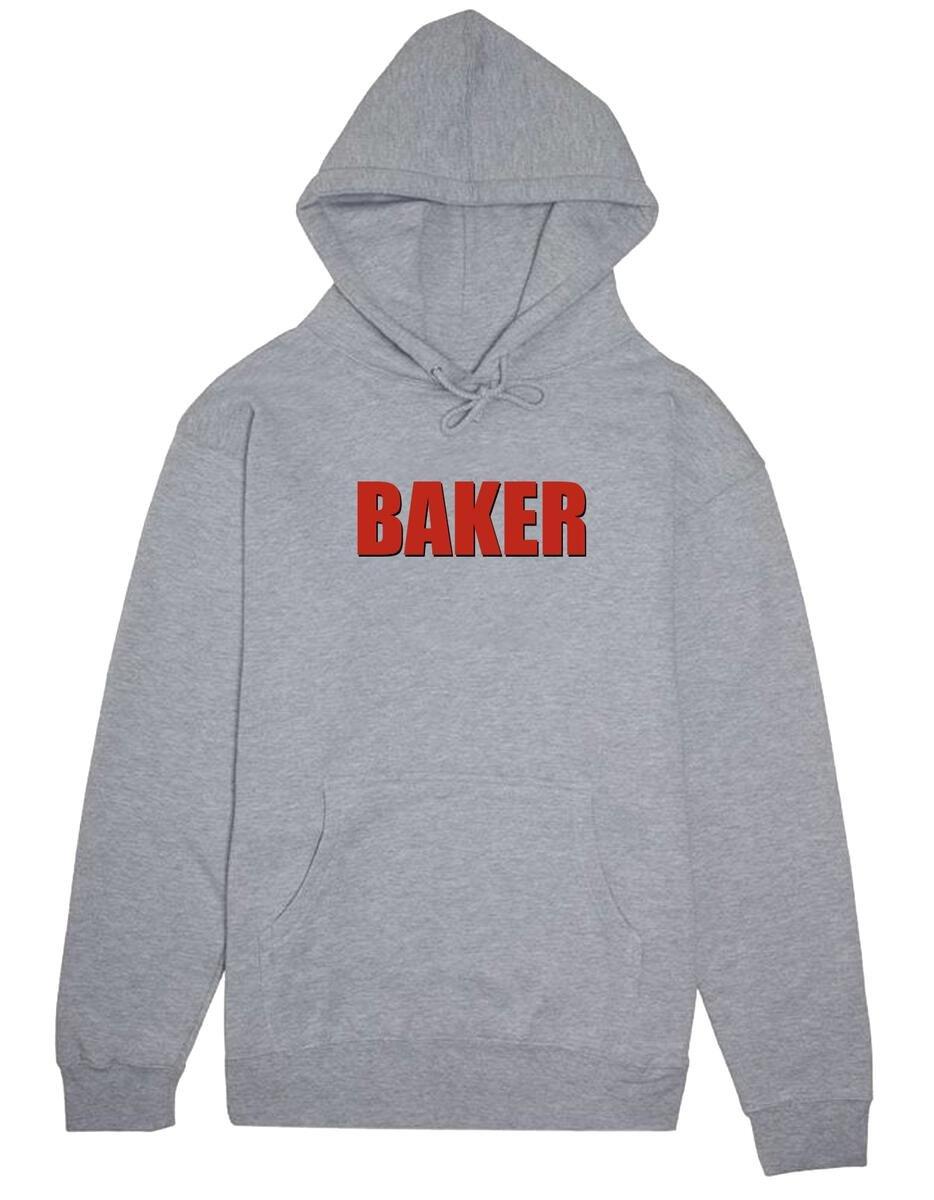 Baker Impact Hooded sweatshirt grey heather