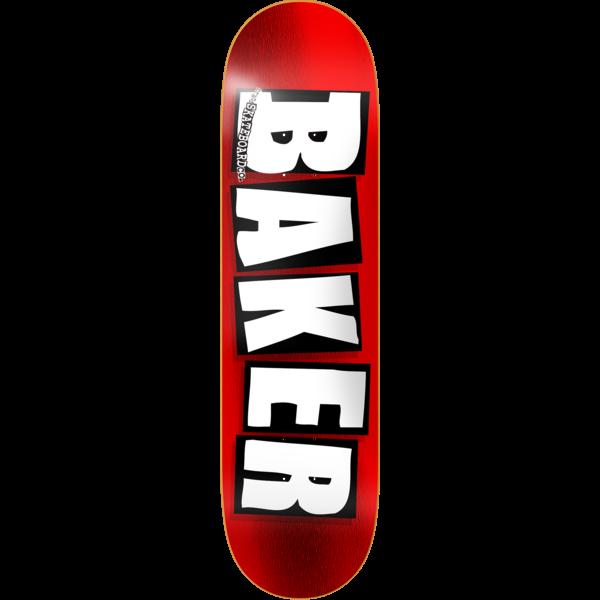 Baker Brand Logo Red Foil 8.5 x 32