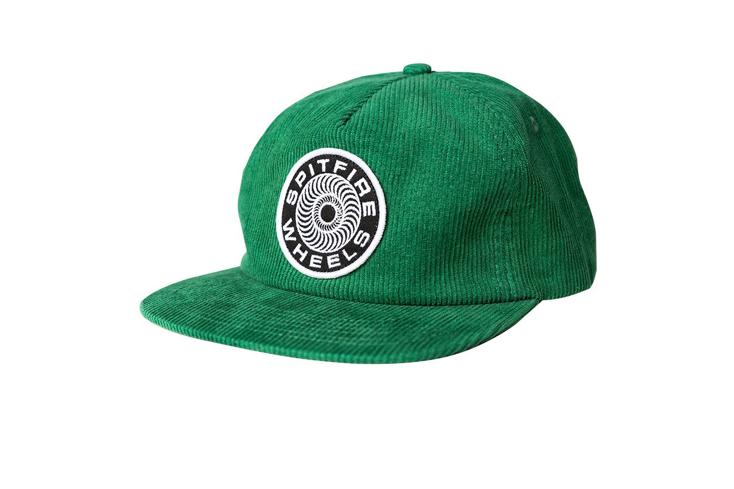Spitfire Adjustable Classic Swirl Snapback Cord Green