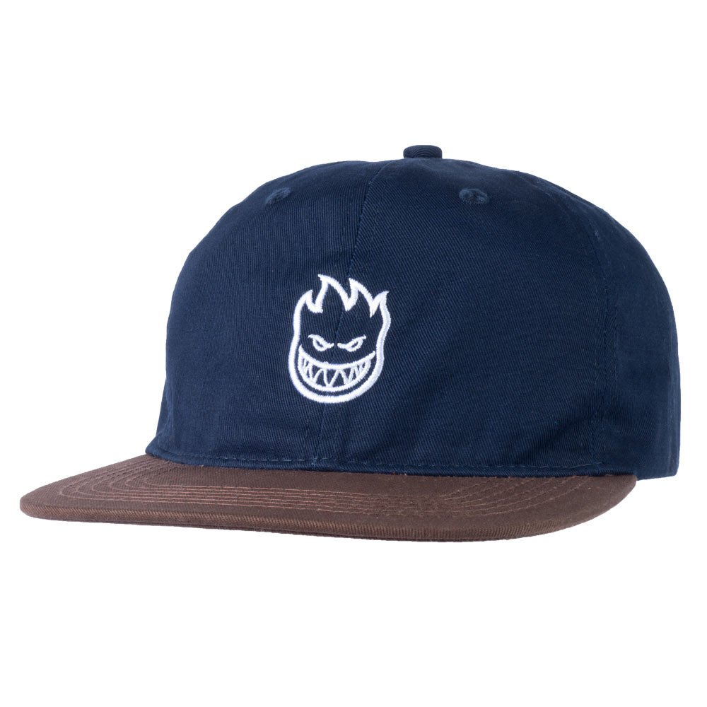 Spitfire Lil Big head Strap back navy/brown