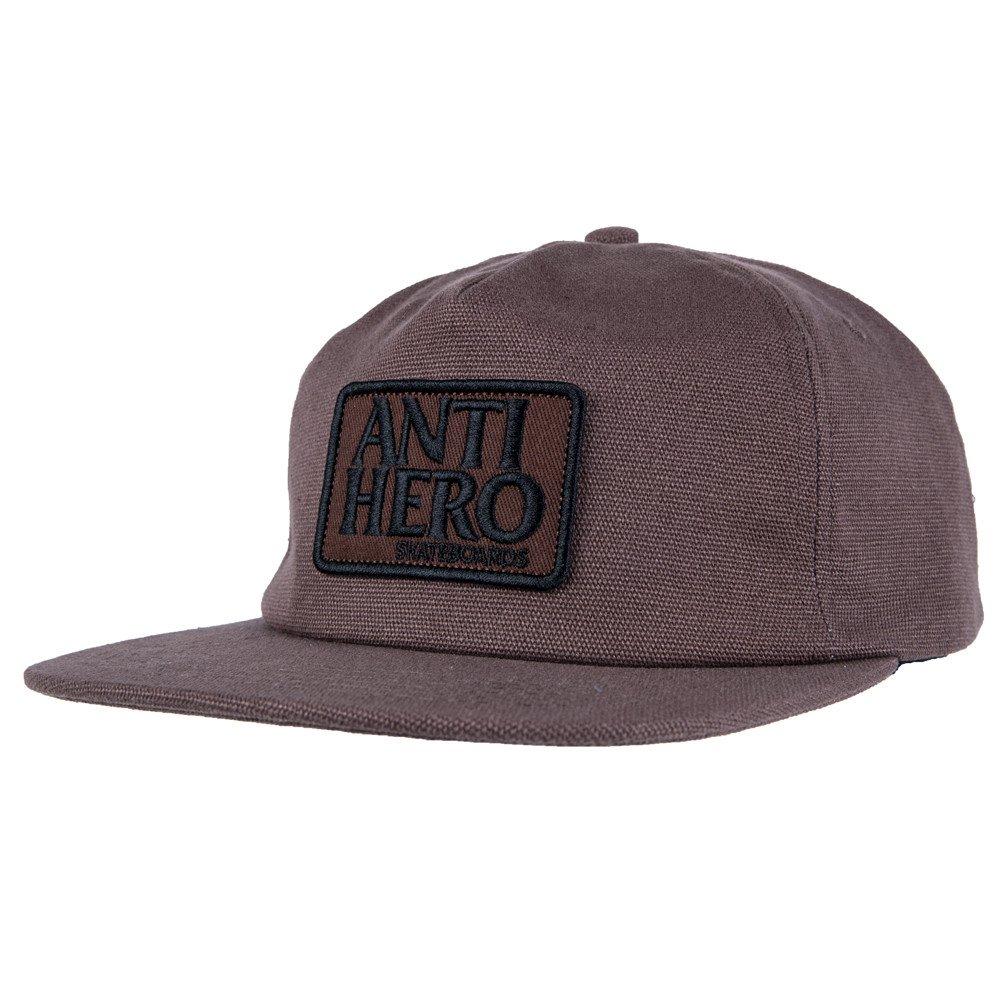 Antihero Adjustable Reserve Patch Snapback Brown