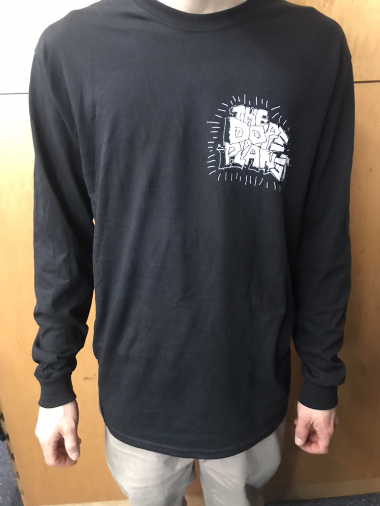 35th Ave X Dope Planet l/s t shirt black