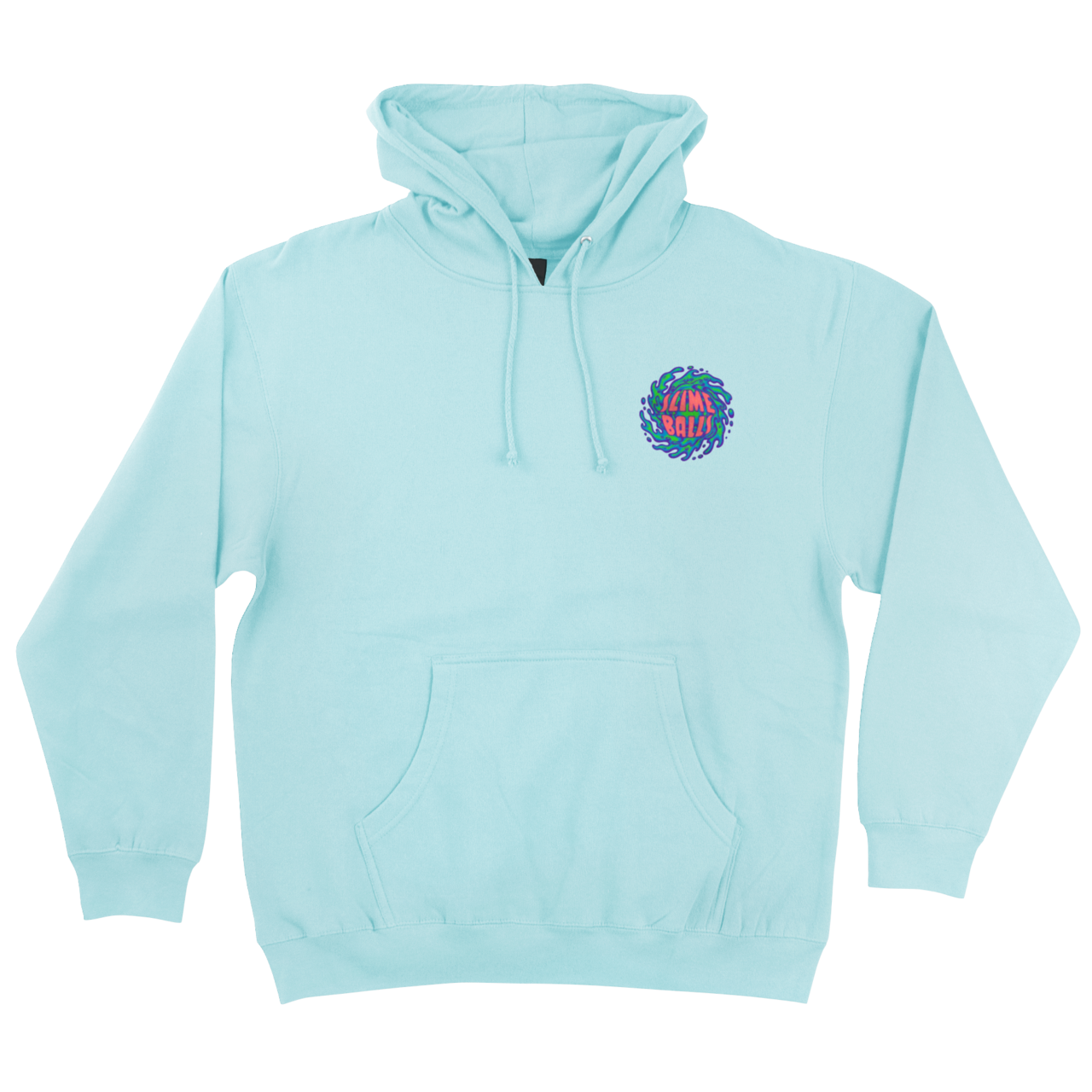 Slime Balls Logo Hooded Sweatshirt mint