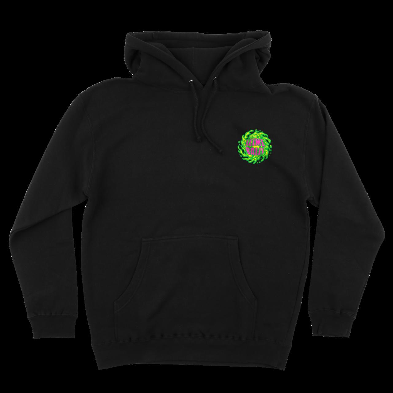 Slime Balls Logo Hooded Sweatshirt black