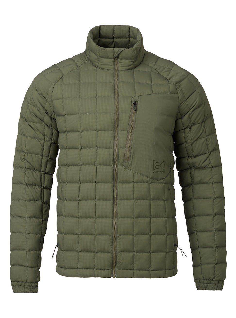 Burton AK BK Lite Insulator Jacket Olive 2018