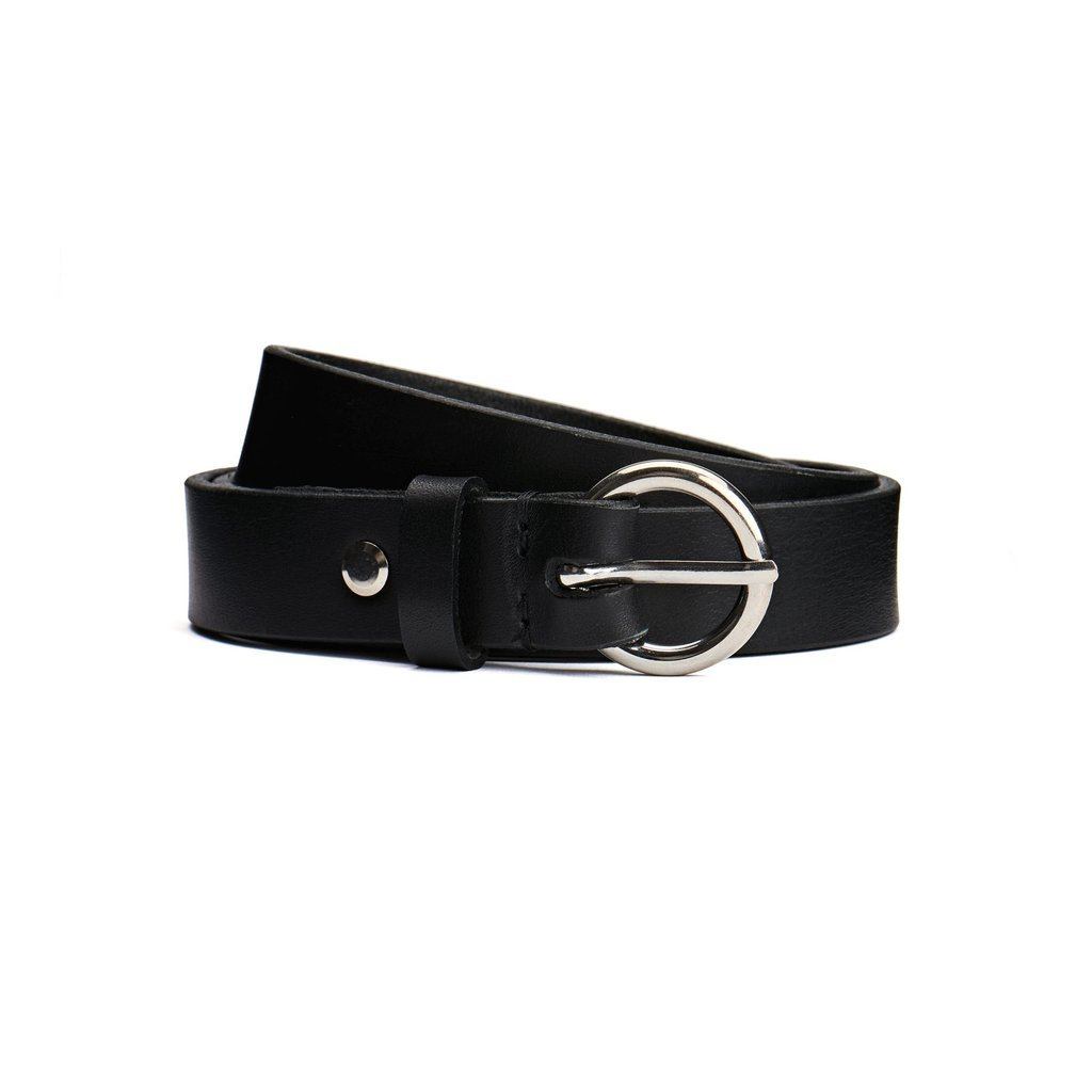 Polar Ring Belt black leather