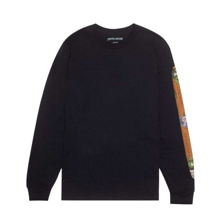 Fucking Awesome Blunt l/s t shirt Black