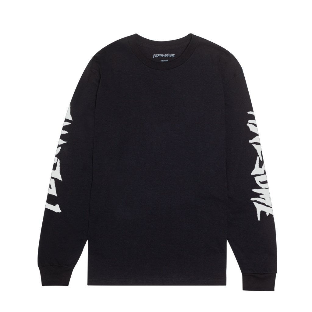 Fucking Awesome Faith l/s t black