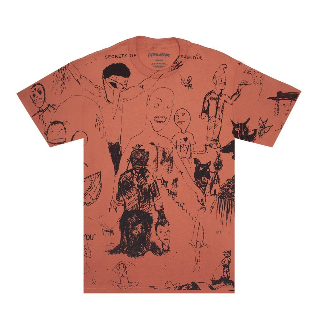 Fucking Awesome Drawings s/s t Terracotta