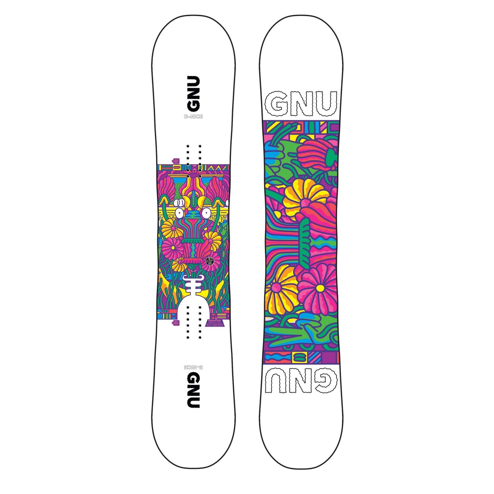 Gnu B-Nice Snowboard 2021