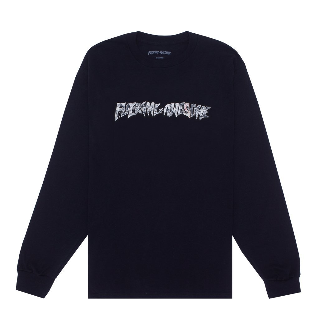 Fucking Awesome Actual Visual Guidance l/s t black