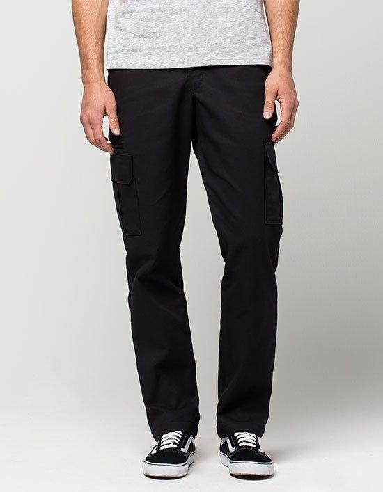 Dickies Slim Straight  stretch Twill Cargo Pant black