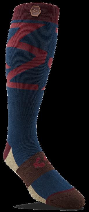 Thirtytwo Lashed Sock Navy 2018