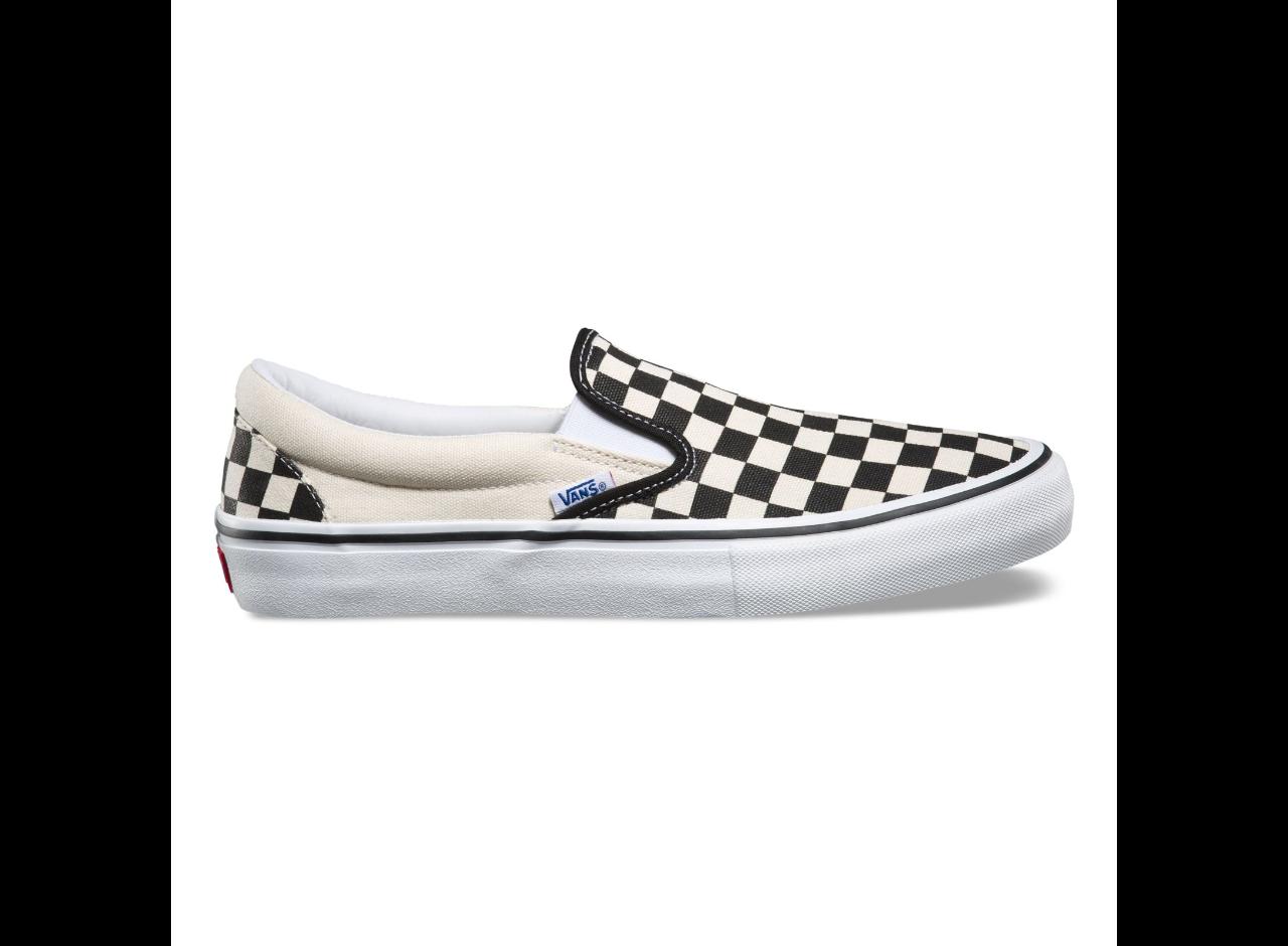 Vans Slip On Pro checkerboard Black/white