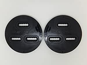 Burton 3D Disc Black  1 Pair