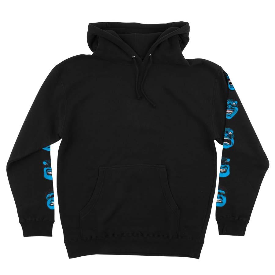 Speed Wheels Faces P/O Hooded sweatshirt black