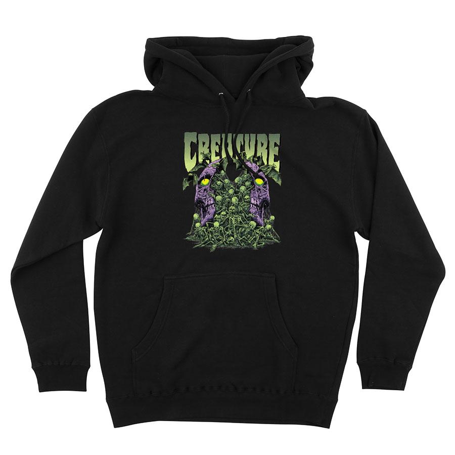 Creature Awakening Hooded sweatshirt black