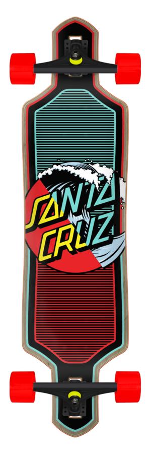 Santa Cruz 99.0in x 36in Wave Dot Splice Drop Thru