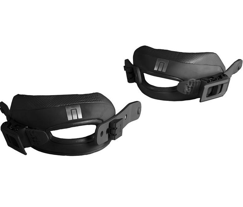Now 3D Toe Strap Kit Black