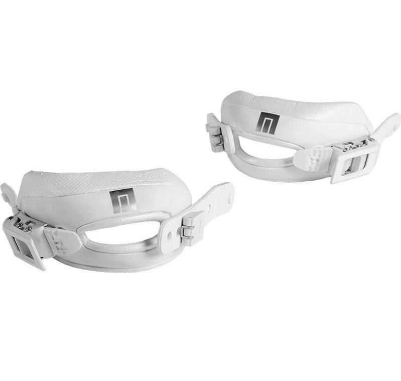 Now 3D Toe Strap Kit White