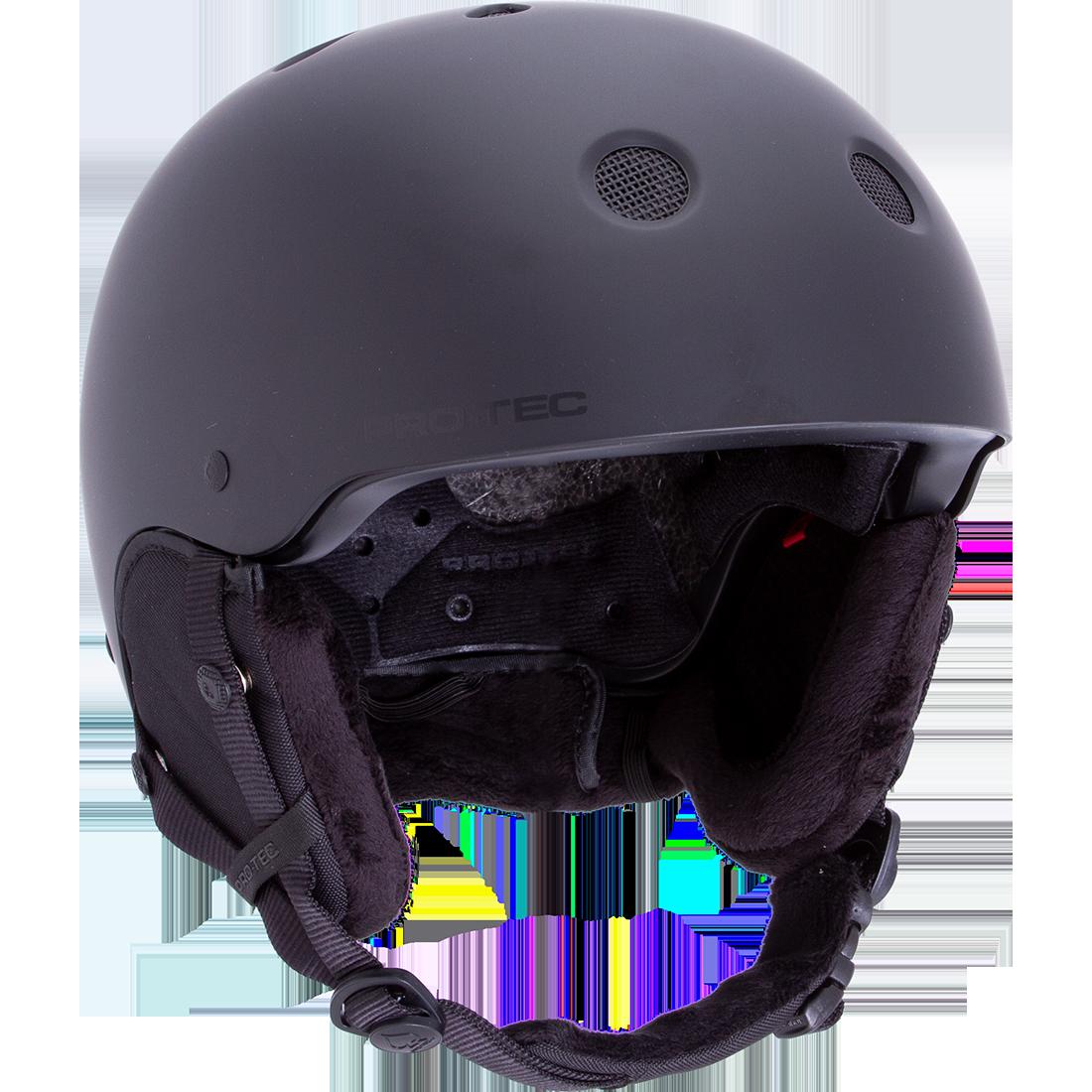 Pro-Tec Classic Certified Snow Helmet Stealth Black