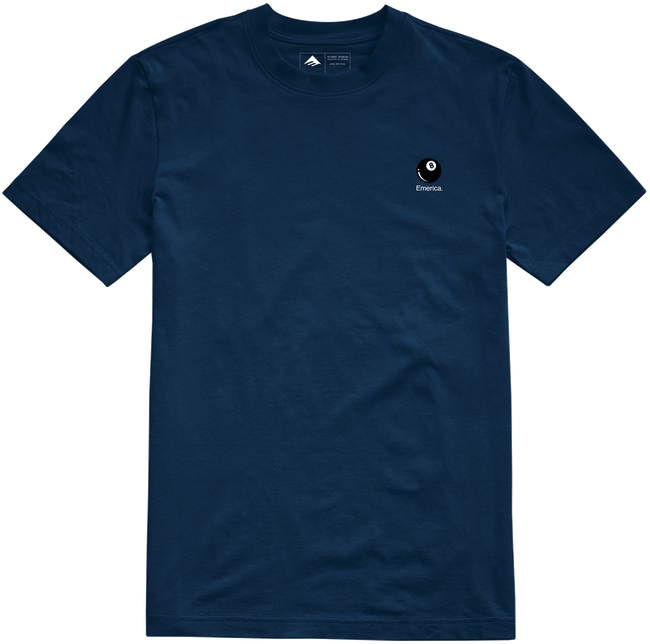 Emerica Erick Winkowski 8ballr s/s t shirt Navy