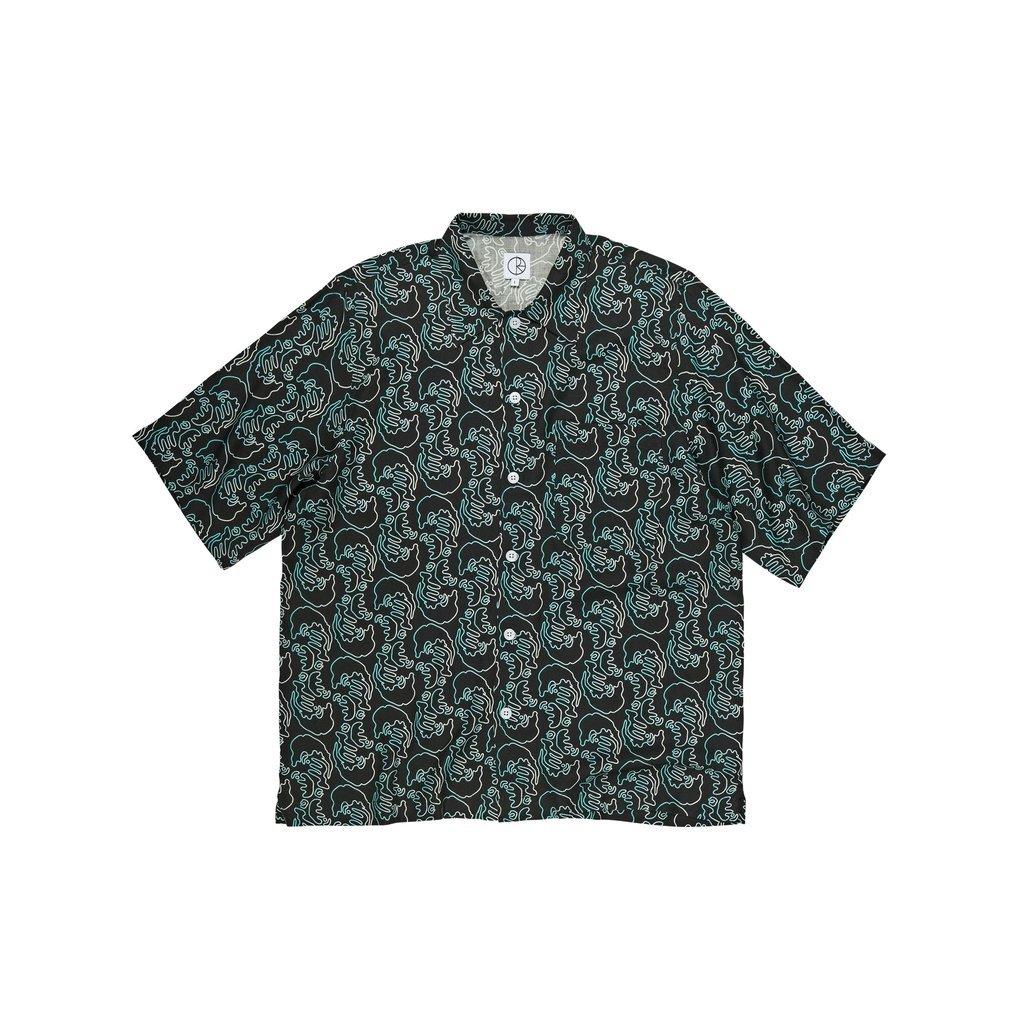 Polar Skate Co Art Shirt Faces Black