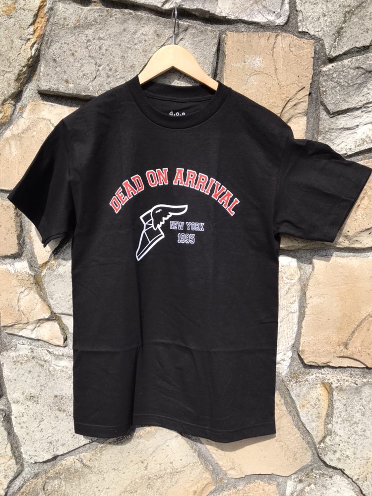 D.O.A. Hermes Foot s/s t shirt Black