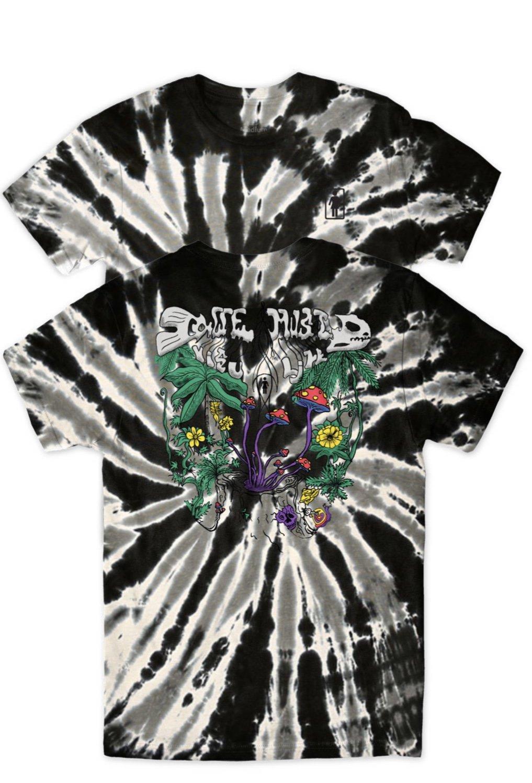 Girl Visualize s/s t shirt black tie dye