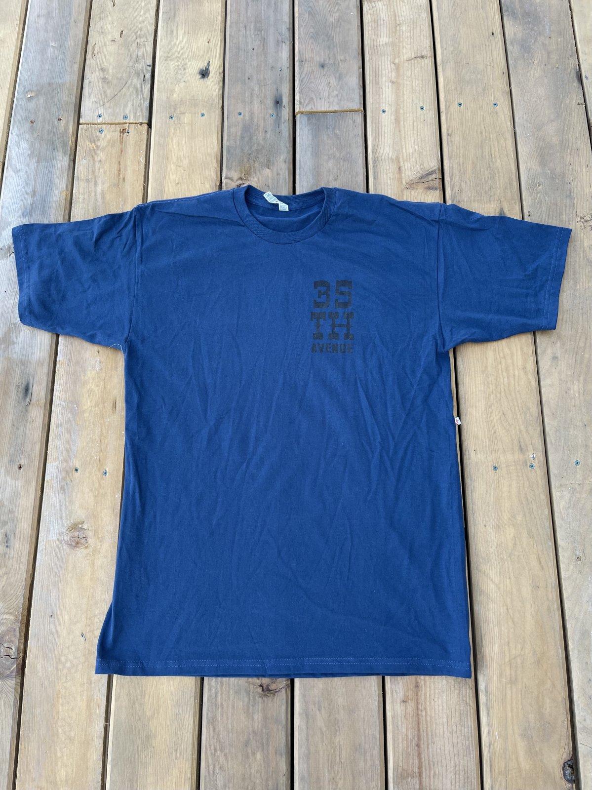 35th Snake n Boot s/s t shirt harbor blue