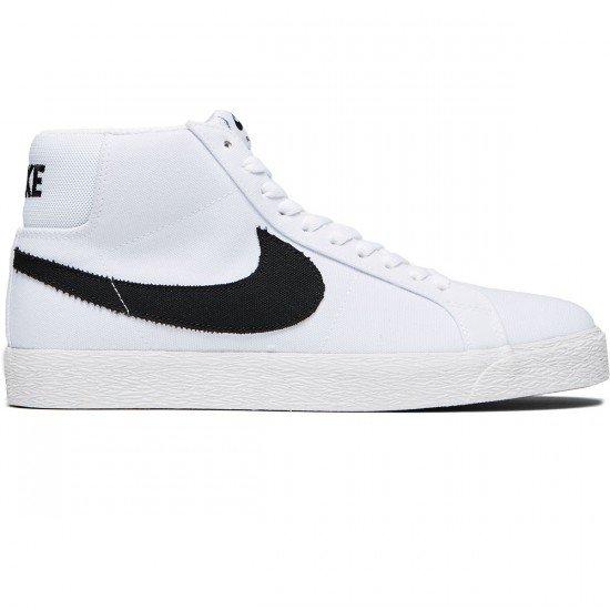 super cute 7c6f4 a413c Nike SB Blazer Zoom Mid Canvas white/black-gum light brown