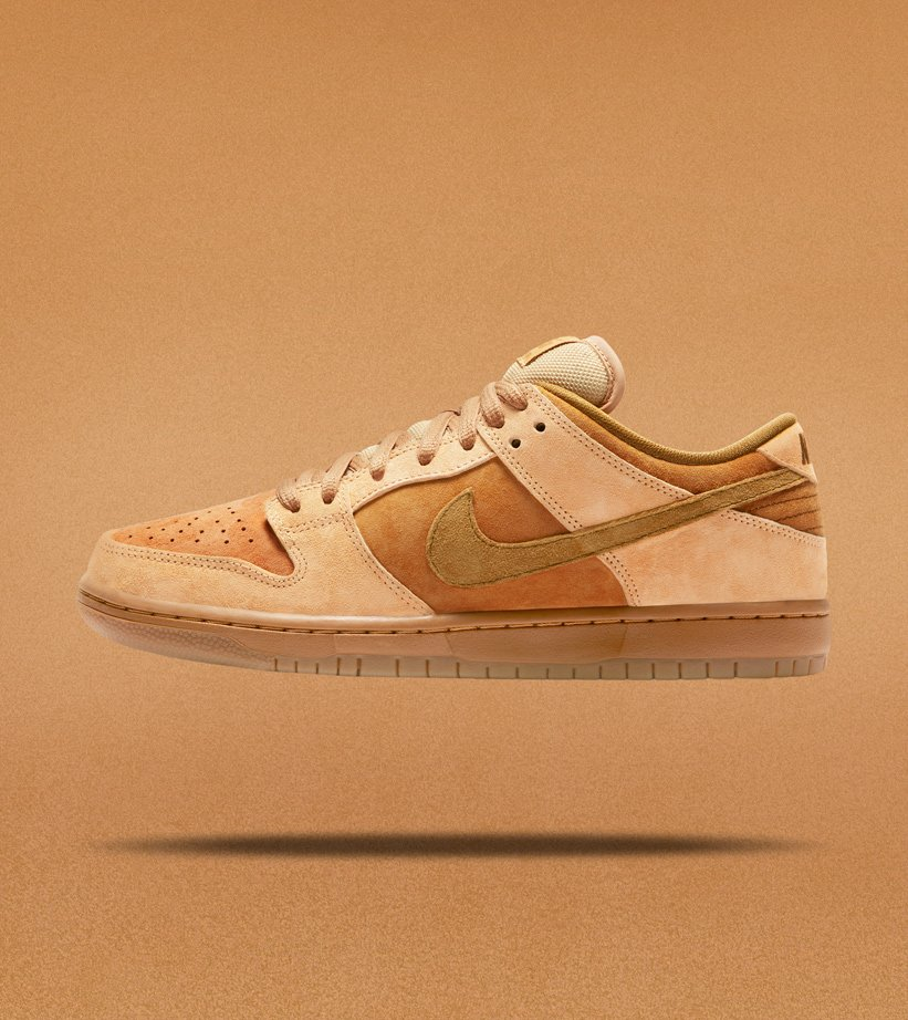 2a480eda95ed3 Nike SB Dunk Low TRD QS dune twig-wheat-gum med brown