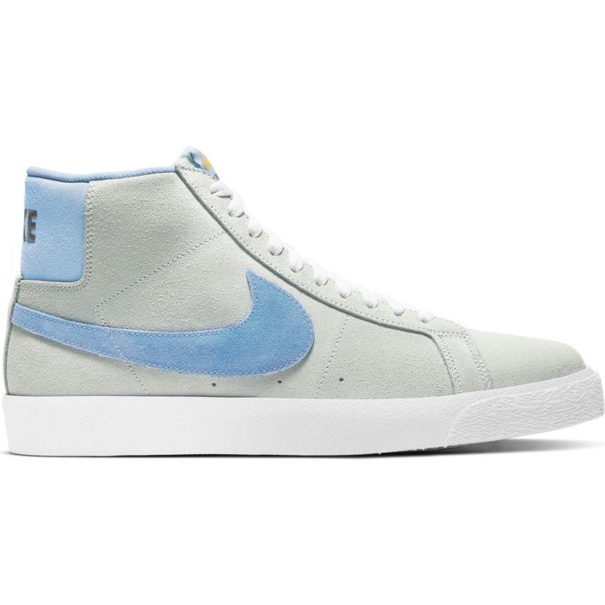 Nike SB Blazer Mid photon dust psychic blue