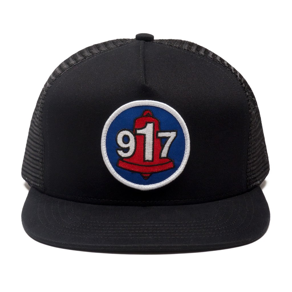 Call Me 917 Club Trucker hat black
