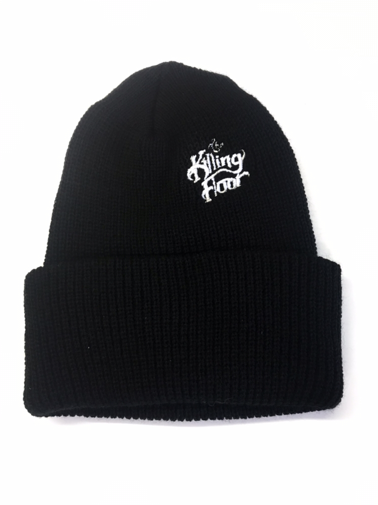 The Killing Floor Logo Watchcap beanie black