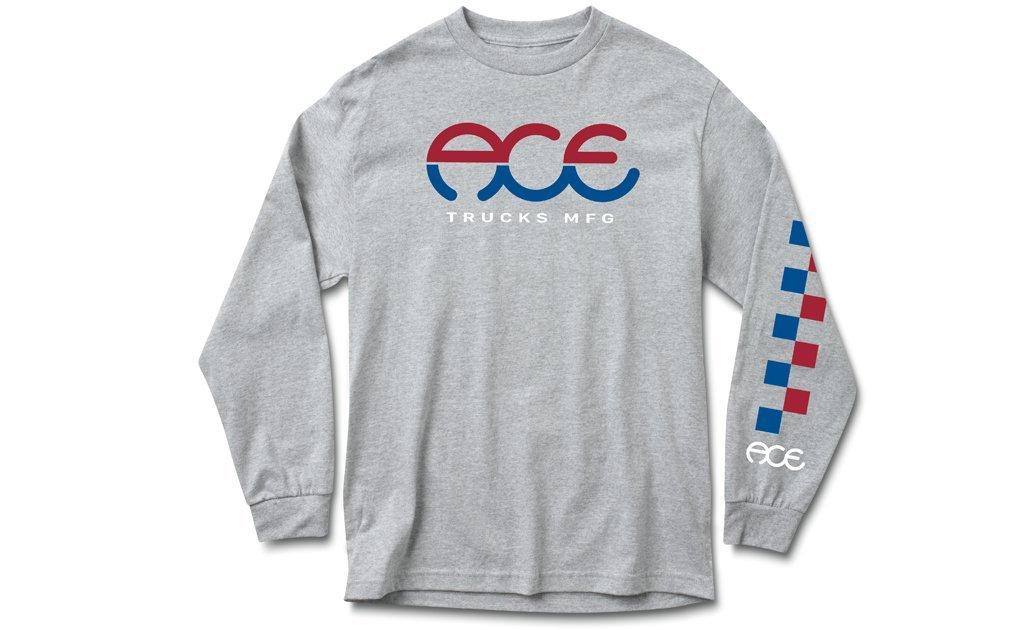 Ace Trucks Split Standard l/s shirt Heather Grey