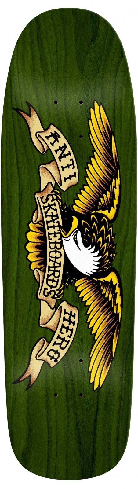 Antihero Green Giant Shaped Eagle 9.56 x 32.98