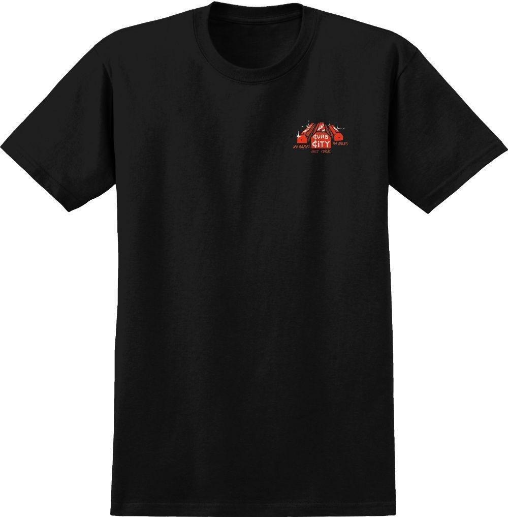 AntiHero Curb City s/s t shirt Black