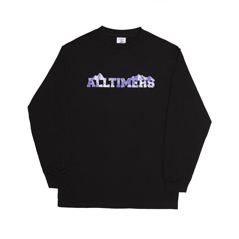 Alltimers Rock Planet l/s shirt black