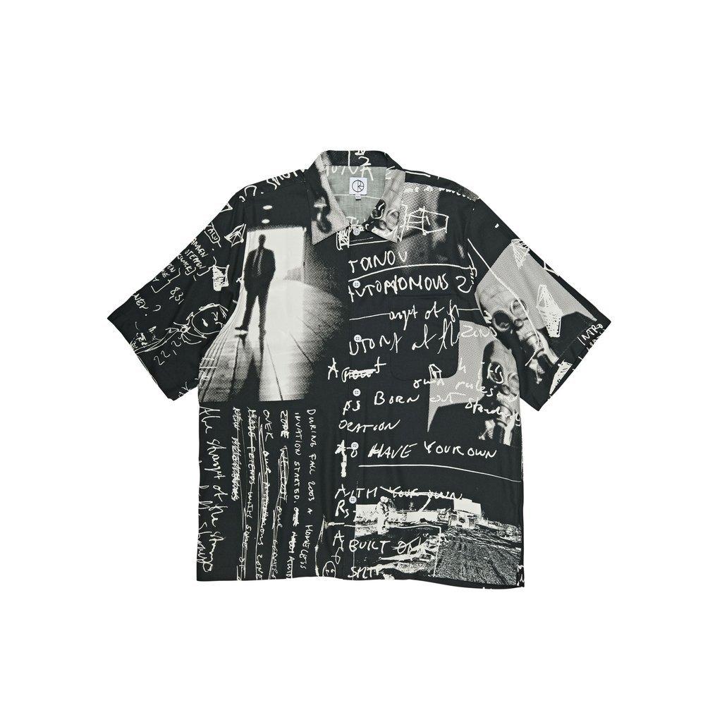 Polar Skate Co Art Shirt Strongest of the Strange Black