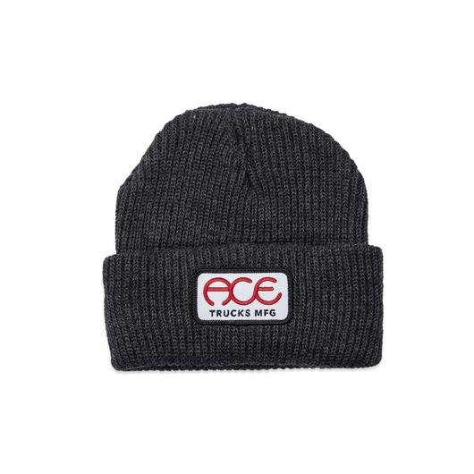 Ace Rings Logo Charcoal Beanie