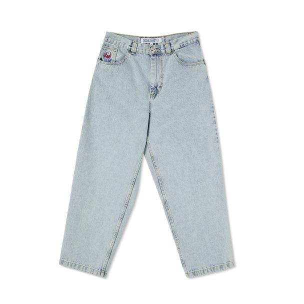 Polar Skate Co Big Boy Jeans Light Blue
