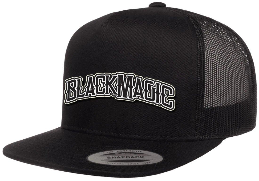 Shorty's Black Magic Arch snapback trucker hat black