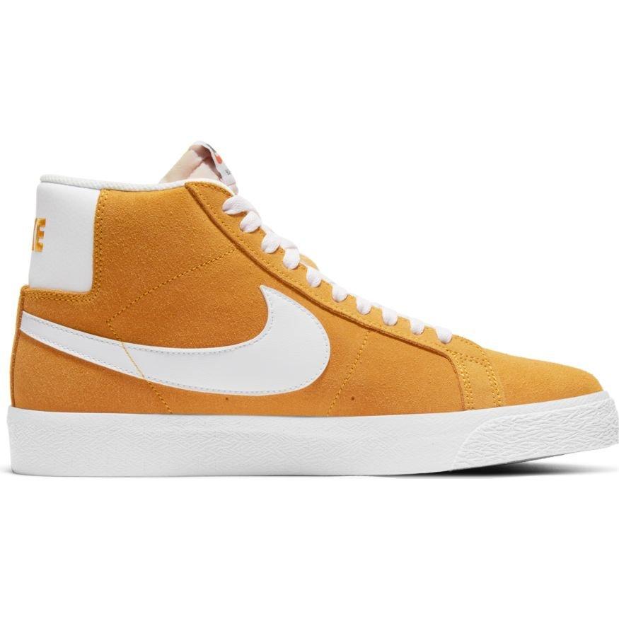 Nike SB Blazer Mid UNIVERSITY GOLD/WHITE-UNIVERSITY GOLD