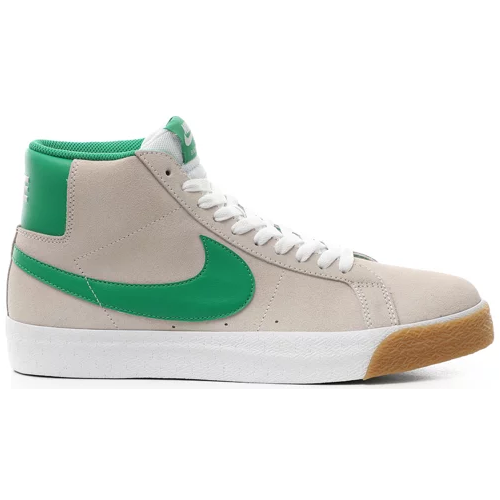 Nike SB Blazer Mid White/White/Coconut Milk/Lucky Green