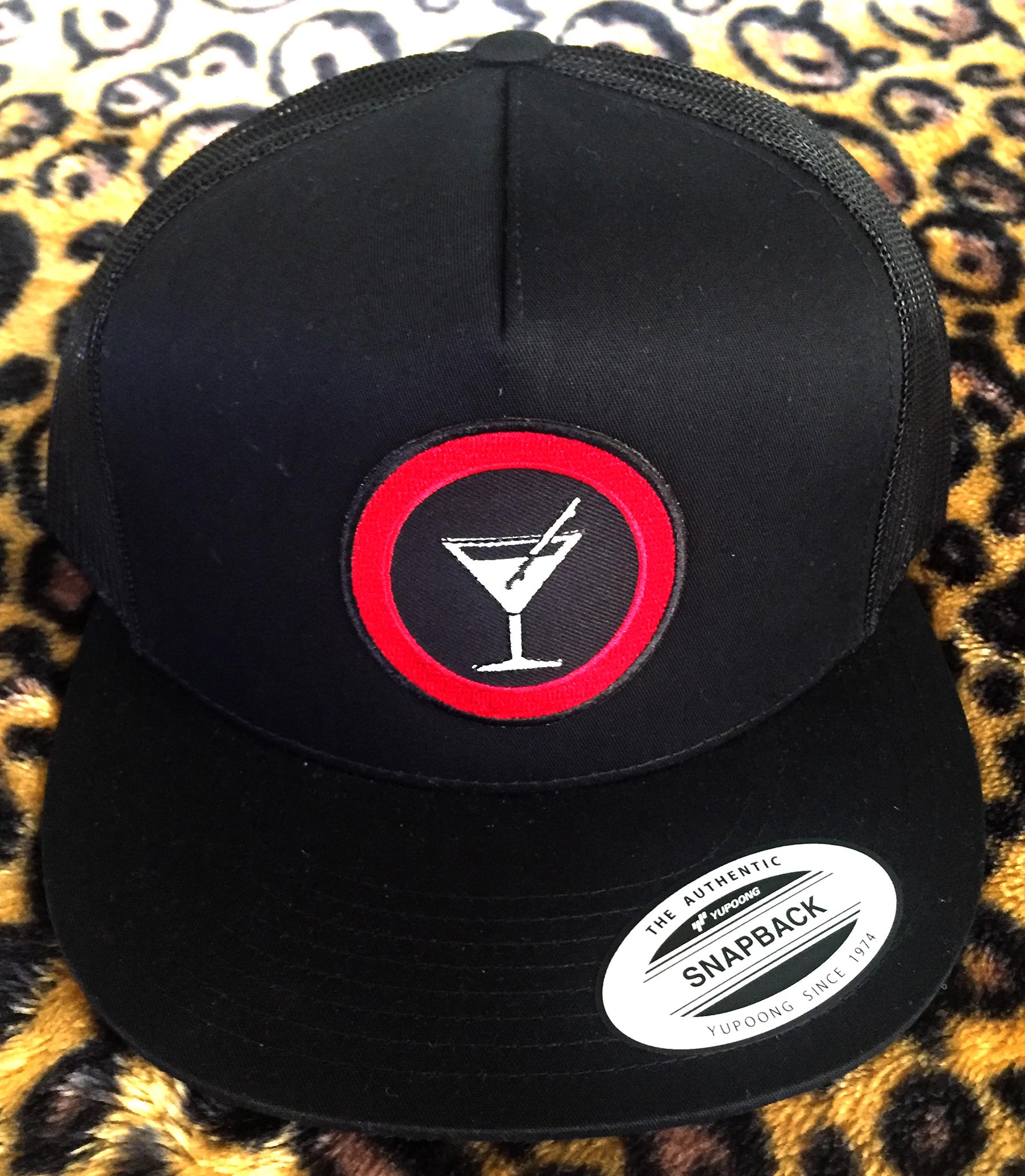Slappy Hour Trucker hat black/black