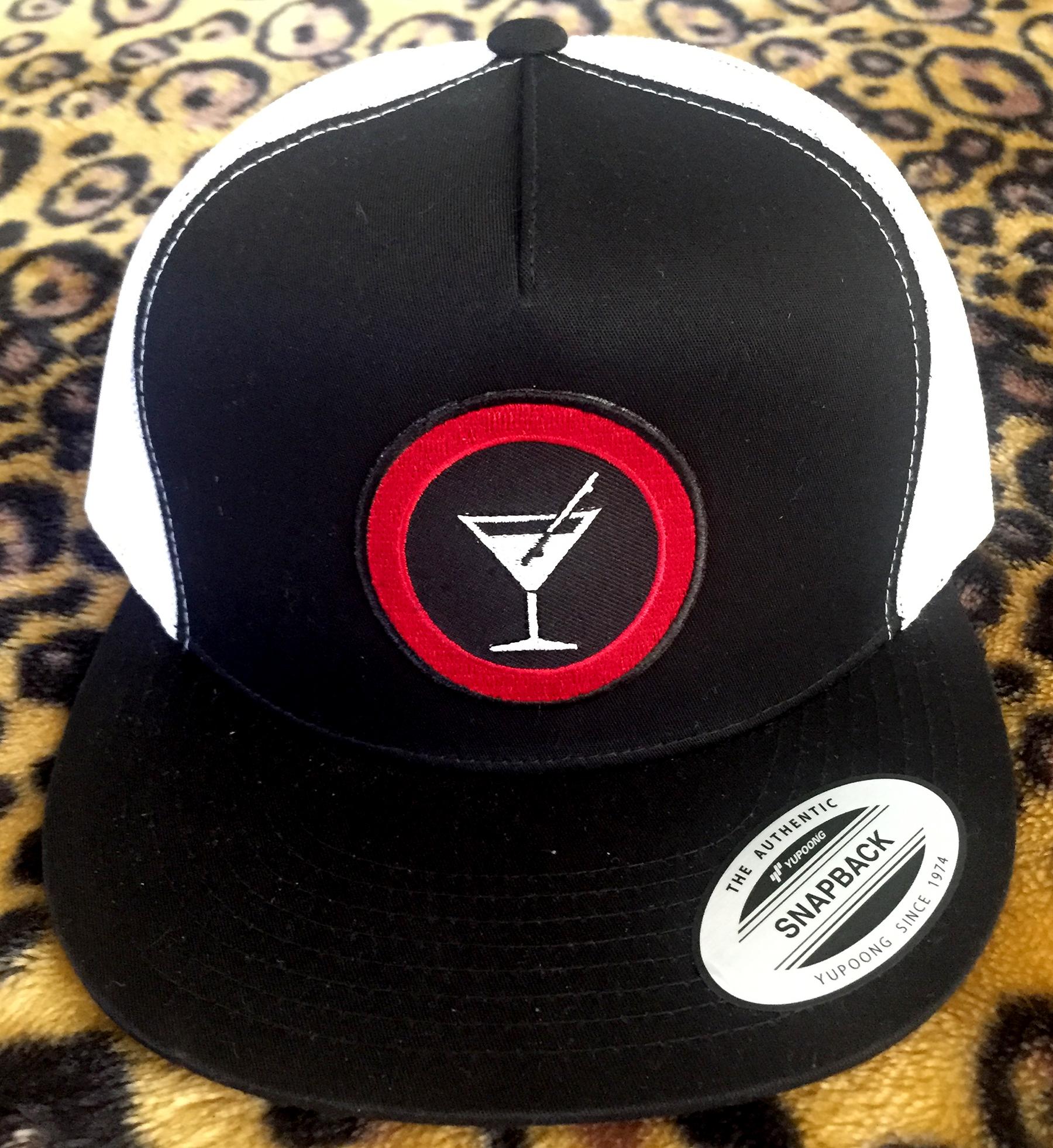 Slappy Hour Trucker hat black/white